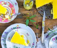 Cheesecake met lemon curd Clotted Cream, Lemon Cheesecake, Lemon Curd, Scones, Breakfast, Desserts, Recipes, London, Lime Cheesecake