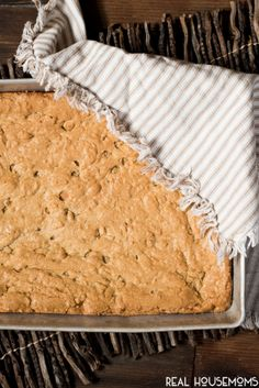 Easy Butterscotch Bars are loaded with brown sugar and butterscotch chips for a soft, chewy cookie bar that your kids will love. Make these bars in one bowl for a quick cleanup!
