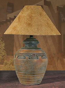 Southwest Table Lamp H-6078-WD