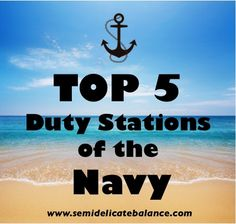 5 Best Duty Stations for Navy Personnel and Families, military, pcs, tips, moving, navy