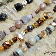 Diy Jewelry Projects, Jesse James, Bead Shop, Strands, Primary Colors, Jewelry Making, Beaded Bracelets, Artists, Rock