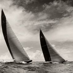 Barths, See a handmade toned silver gelatin photograph of this image Reference Images, Art Reference, J Class Yacht, St Barths, Classic Yachts, Photo B, Hanuman, Sailboats, Boating