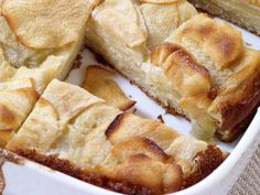 Custardy Apple Squares Recipe : Food Network - FoodNetwork.com