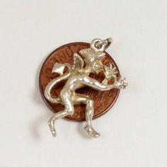 Vintage Devil Charm Sterling Silver English Charm Devil by mybooms