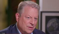 Not doing it: Al Gore revealed on Today Monday morning (above) that he is refusing to endorse Hillary Clinton over Bernie Sanders