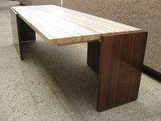 brass & heavy glass oval hoof foot coffee table regency modern la