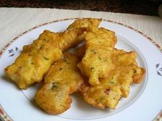 Bacalaitos-Fried cod fritters  My husband hates these but I so love them!
