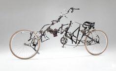 La rinascita di bici abbandonate