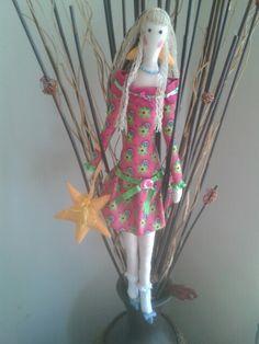 Decor doll pink