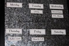 Kids Organizing Bulletin Board - The Idea Room