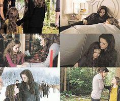 Bella and Nessie. Twilight Breaking Dawn, Breaking Dawn Part 2, Twilight New Moon, Twilight Series, Twilight Renesmee, Stephanie Meyers, Mackenzie Foy, Twilight Photos, Midnight Sun