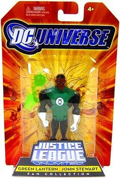 DC Universe Justice League Unlimited Fan Collection Action Figure Green Lantern John Stewart