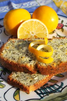Scrumpdillyicious: Orange & Lemon Poppyseed Bread with Citrus Glaze