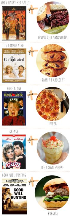 entertaining idea: movies + matching food. what would your combo be?