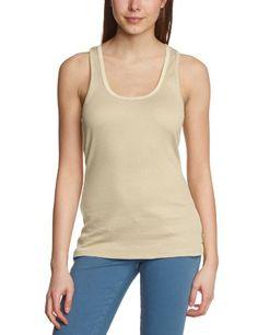 Maison Scotch - Camiseta de tirantes sin mangas para mujer, talla 38, color blanco antiguo (antique white)