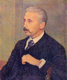 Portrait of the Painter's Uncle by @artrysselberghe #pointillism