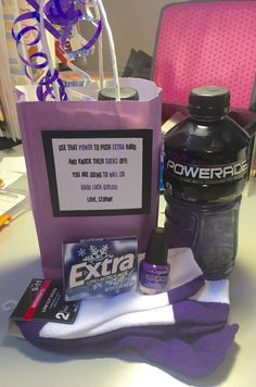 Good luck at tryout gifts