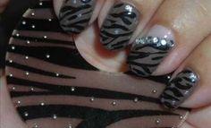 Video Tutorial -Nail Art -Zebra