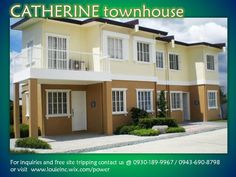 CATHERINE town house. 3 bedrooms P7,000 per month Avail now!!!