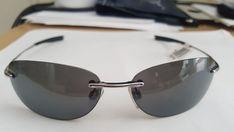 714aecbb4e6 New Black Polarized Revo Men s Sunglasses with Silver Frame  fashion   clothing  shoes