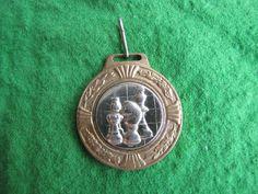 9 Estonia - Latvia Riga 2002 test match on the table 100 medal bagde pin