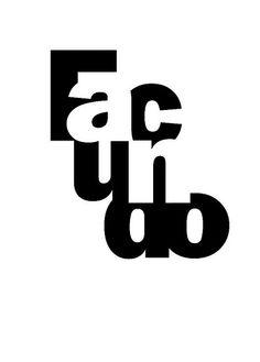 Tipografía I . Nombre .  Facundo Lopez Sigon