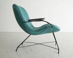 Lounge Chair by Carlo Hauner, Brazil, 1950s 3