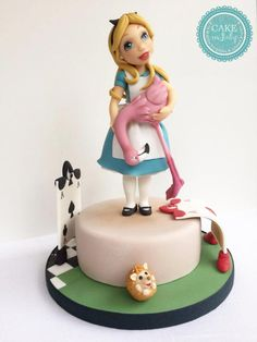 Alice and Wonderland by Cake in Italy