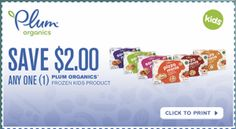 NEW high-value $2/1 Plum Organics Frozen Kids Product printable coupon! - http://www.couponaholic.net/2014/12/new-high-value-21-plum-organics-frozen-kids-product-printable-coupon/