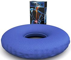 Degenerative Disc Disease Sciatic Nerve Pain Relief Donut Pillow Cushion Relieves Tailbone Pressure >>> Details can be found by clicking on the image.