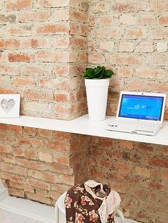 light desk + bricks