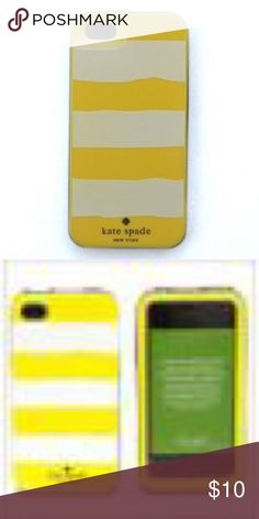Kate Spade New York IPhone 5S Case🌙 Light scratches, but nothing obvious. Overall great condition. Box included. kate spade Accessories Phone Cases