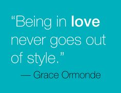 This saying resonates with Grace Ormonde, which is why she named her hardcover book after it. #GOWS #platinumlist #weddingstyle #graceormonde #luxuryweddings