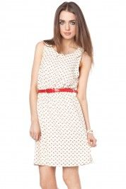 Sullivan Dress in white  #shopsosie #peterpancollar #fashion #whitedress #shop #red #graduation