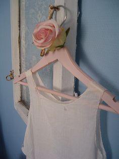 shabby cloth hanger