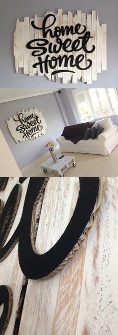 Sin duda alguna el lettering está de moda. Escribir letras bonitas puede ser una forma muy original de cambiar el aspecto de tus muebles. ;)