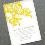 Tons of free invites and other items (programs, save the dates etc) for printing.