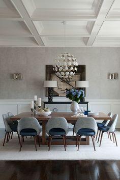 50 Modelos de Mesa de Jantar com Cadeiras - Fotos
