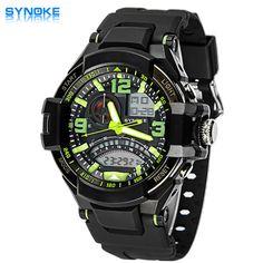 $17.11 (Buy here: https://alitems.com/g/1e8d114494ebda23ff8b16525dc3e8/?i=5&ulp=https%3A%2F%2Fwww.aliexpress.com%2Fitem%2FSYNOKE-Brand-Watches-Men-Watch-Fashion-PU-Leather-Strap-Round-Dial-Waterproof-Sport-Quartz-LED-Digital%2F32396156127.html ) SYNOKE Watches Men Digital Quartz Watch Male Wristwatches Sport Quartz-watch Digital-watch Relogio Masculino 67876 for just $17.11