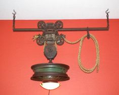 Items similar to Myers barn trolley light on Etsy