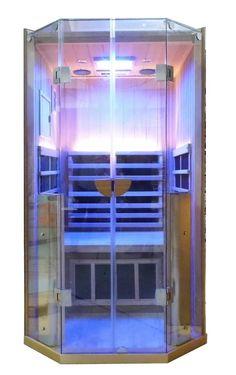 Sanctuary One Person Sauna. Coming Soon! Interior Decorating, Decorating Ideas, She Sheds, Contemporary Design, Locker Storage, Buildings, Medicine, Wellness, Mom