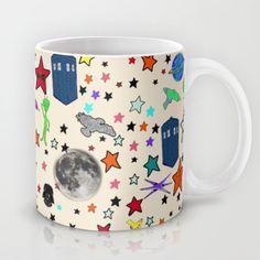 Paper Moon Doodles -- Mug