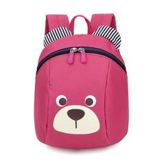 Mother & Kids Cartoon Cute Bear Baby Harnesses Leashes Activity&gear Walking Anti-lost Bag For Kids Safety Plush Backpack Child School Bags High Resilience Activity & Gear