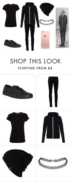 """""""Kyle David Hall"""" by proudkilljoy28 on Polyvore featuring Vans, Yves Saint Laurent, Vince, Patagonia, women's clothing, women, female, woman, misses and juniors"""