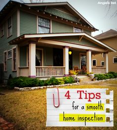 Selling a home? The Angie's List #ALExperts explain how to make sure the buyer's home inspector doesn't derail your sale. #realestate #tips