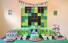 Minecraft Birthday Party Ideas | Photo 1 of 34