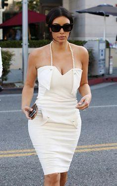 Kim's bridal shower dress
