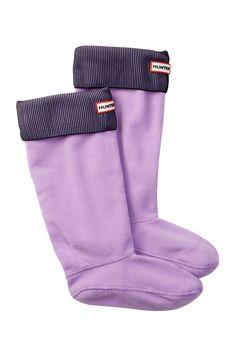 Pleated Ribbed Boot Socks