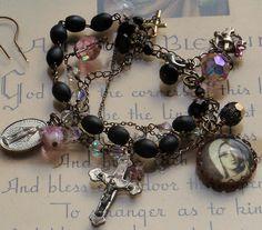 Vintage Rosary bracelets.