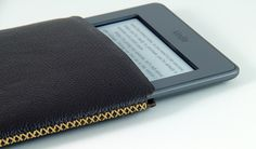 Kindle Touch Leather Case. $27.00, via Etsy.